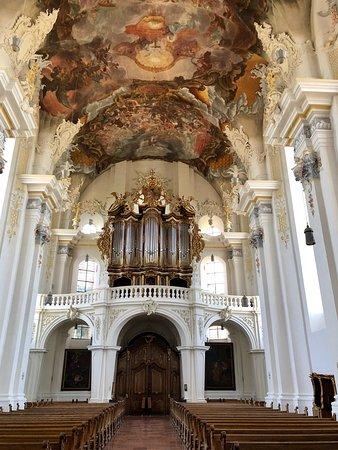 Beautiful baroque interior