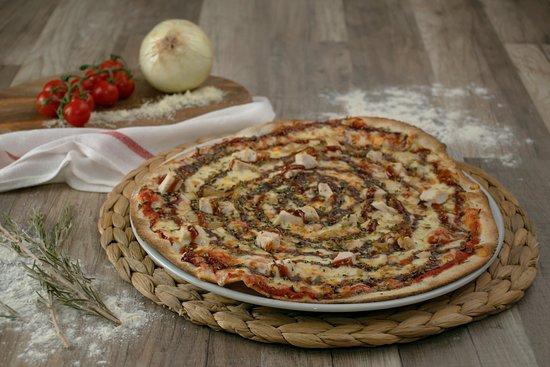 Pizza barabacoa