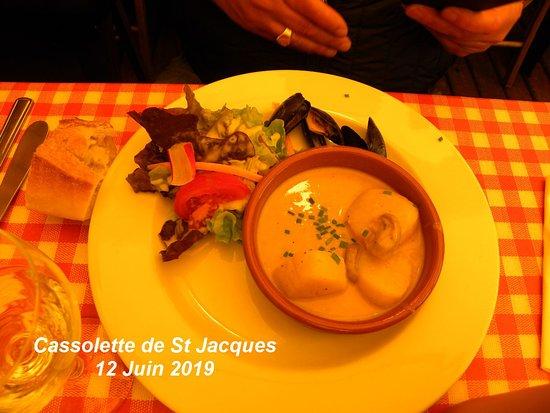 la cassolette de st Jacques