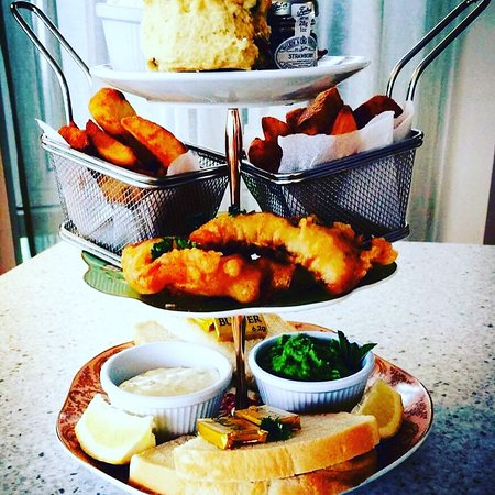 Fish & Chips Afternoon Tea