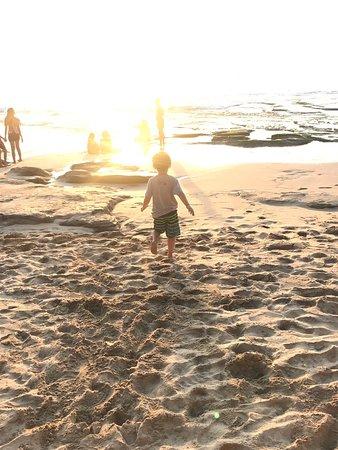 Sunset at Kubu Beach