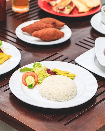 Local and Arabic dishes