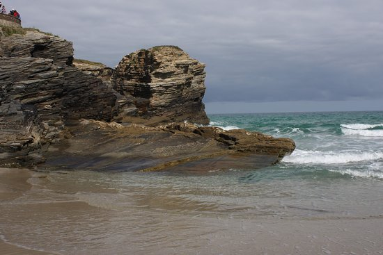 Bufones de Pria: On one of the beaches