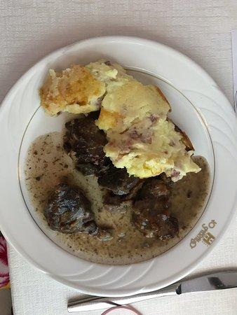 Lo Smeraldo Hotel: Evening meal