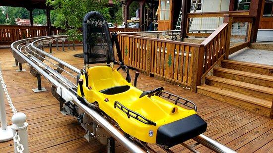 Georgia Mountain Coaster: Coaster Car