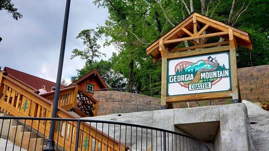 Georgia Mountain Coaster: Entrance