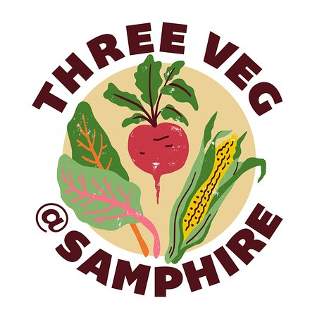 Three Veg at Samphire