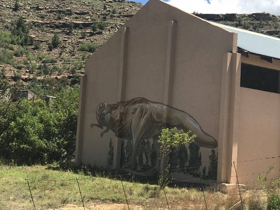 """Lesothosaurus (meaning """"lizard from Lesotho) was herbivore (plant-eater) that lived in southern Africa during the early Jurassic period, between about 199 and 189 million years ago. Its footprints are properly preserved in Moyeni, Quthing for current and future generations. You can visit the 7 days a week from 08:00 to 17:00 at a nominal cost of M20.00 per person."""