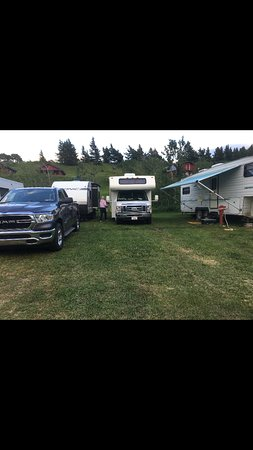 CampSites were like a Walmart parking lot on Black Friday, but with grass!