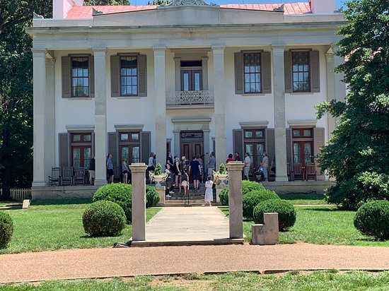 Belle Meade Guided Mansion Tour with Complimentary Wine Tasting: Belle Meade Mansion.