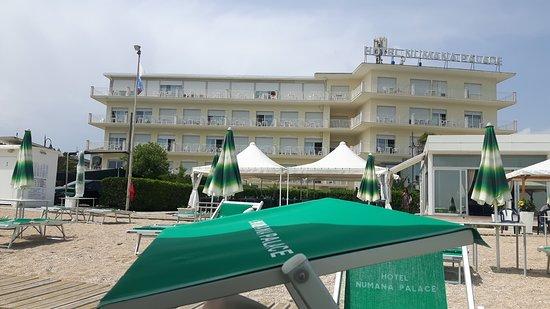 Vista hotel dalla quarta fila