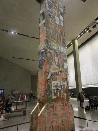 Skip the Line: 9/11 Memorial Museum Admission Ticket: Last section of Steel