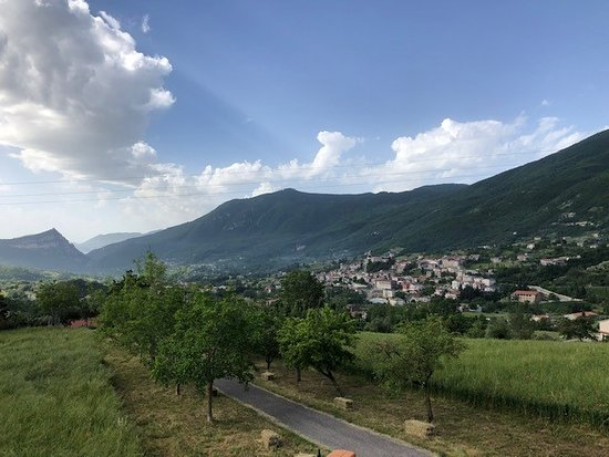 B&B Piana La Gatta: This is view from the terrace