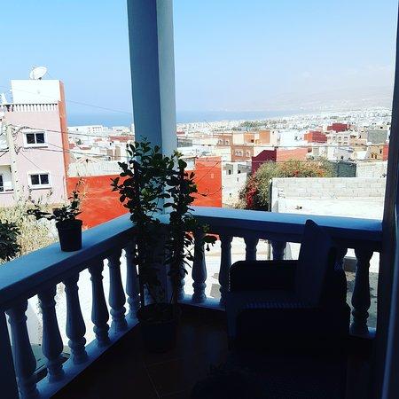 טמרגהט, מרוקו: Room balcony, overlooking the ocean