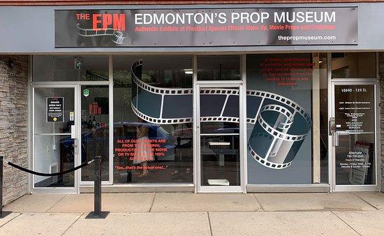 The EPM Edmonton Prop Museum