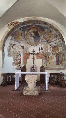 Magliano de' Marsi, อิตาลี: Abside della Chiesa della Madonna di Loreto