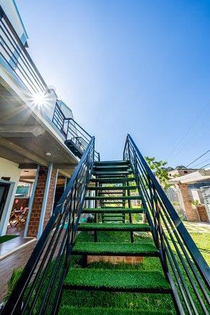 Cầu thang An An Homestay