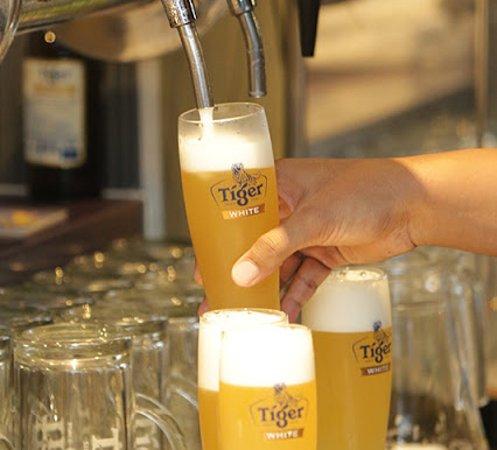 Angels Sports-Bar Restaurant: Tiger draft