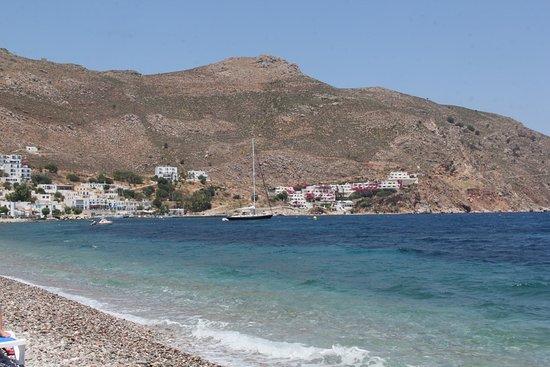 Livadia beach port side 2