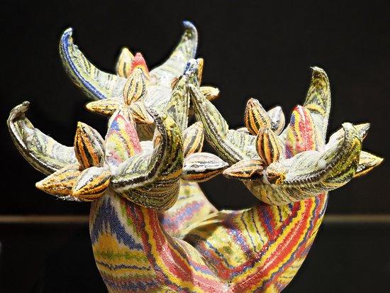 """Keramiekcentrum Tiendschuur: Stuk op de tijdelijke expositie """"VET! gedrukt"""""""