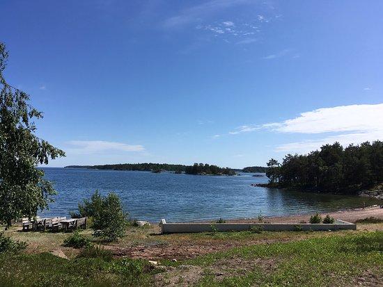 Loftahammar, สวีเดน: Campingplatz in den Schären mit einem traumhaften Blick
