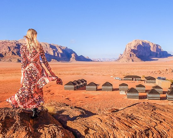 Jordania: This page informs you about eco tourism, the various nature reserves and protected areas offering a range of outdoor activities.
