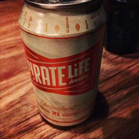 One of those tasty beers ... P!rate Life Arrrgh .... ;)