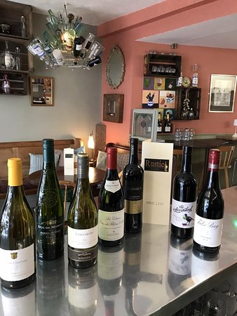 A selection of our lovely wines