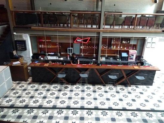 Loft 38: The Loft Bar area and dance floor