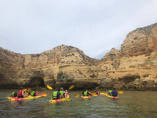 Fotografia de Kayaking in Secret Algarve Benagil Caves