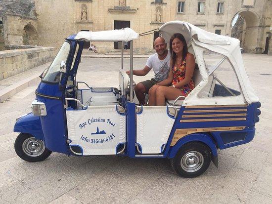 Ape Calessino Tour Sassi di Matera