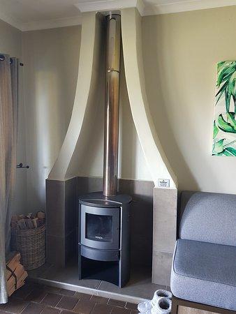 Ixopo, Sør-Afrika: Fireplace