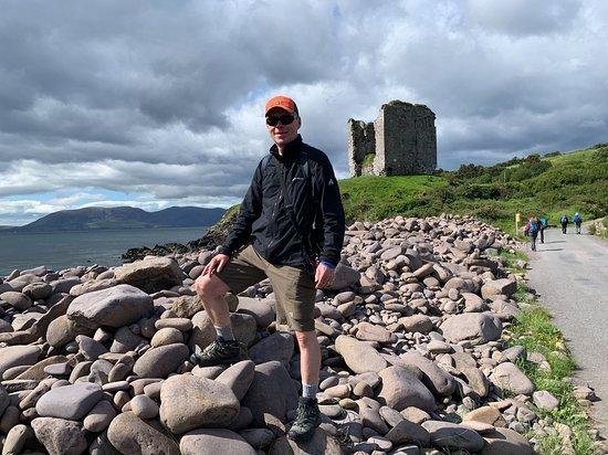 Minard Castle on Dingle Way