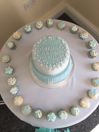 Cakes made for us by owner of Cole's Kitchen