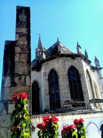 Catas Altas, MG: Detalhe externo posterior da Igreja de Nossa Senhora Mãe dos Homens