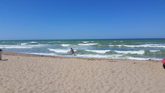Villaggio Club Albatros: Mare.Tipo Romagna, ma più agitato.
