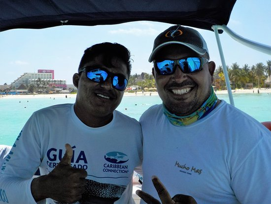 ‪‪Private Whale Shark Adventure Tour from Cancun and Riviera Maya‬: our skipper and guide‬