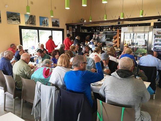 Restaurant Torcal Alto: Menús para grupos.