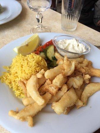 Super moment au bord du port et très bon repas