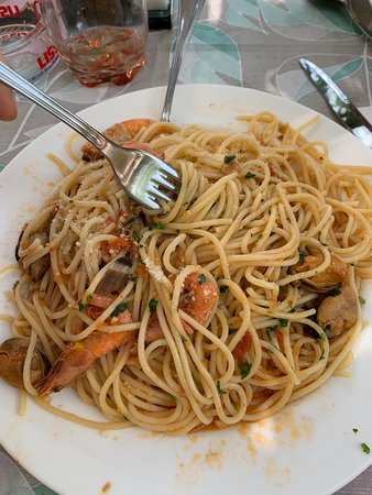 Velo d'astico, อิตาลี: Spaghetti allo scoglio