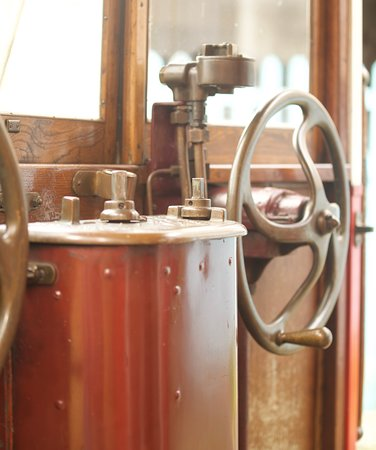 Carris Museum: Os autocarros e elétricos do Museu da Carris são muito bem conservados e é possível ver o cuidado do museu e de seus atenciosos funcionários em cada detalhe.