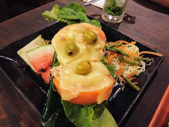 Taberna La Botija: Tomato cheese