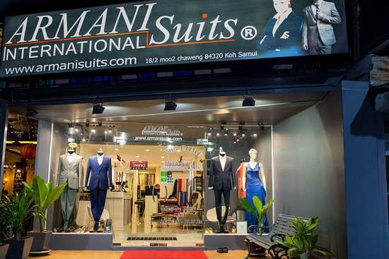 ‪Armani Suits International‬