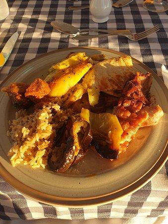 greek night - buffet main