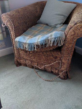 The Ferry Boat Inn: Nice chair!