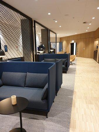 Steigenberger Alsik - Hotel & Spa: 1st Floor business centre seating area