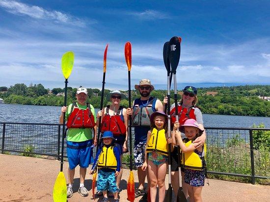 Portage Paddle Sports: family!