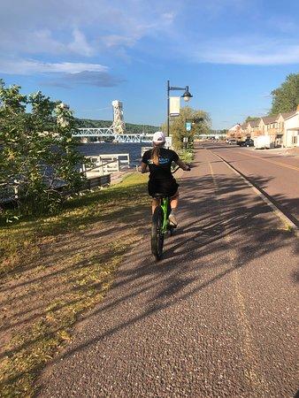 Portage Paddle Sports: bike path is sweet!