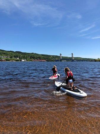 Portage Paddle Sports: friends!