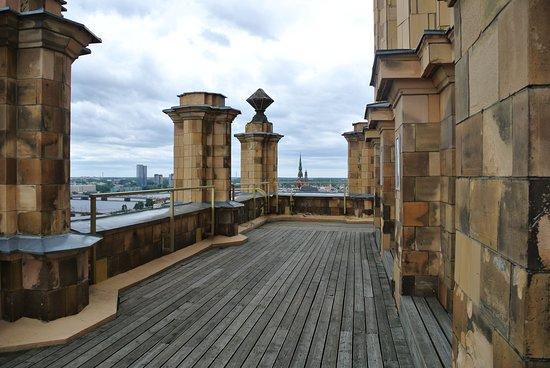 Panorama Riga Observation Deck: Plattform